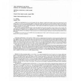 MC0003. Fuller's Earth and Bentonite in Texas