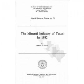 MC0075. The Mineral Industry of Texas in 1982