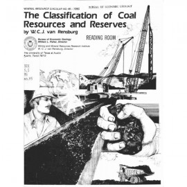 MC0065. The Classification of Coal Resources and Reserves