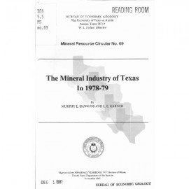 MC0069. The Mineral Industry of Texas in 1978-79