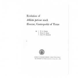 PB6413. Evolution of Athleta petrosa Stock (Eocene, Gastropoda) of Texas