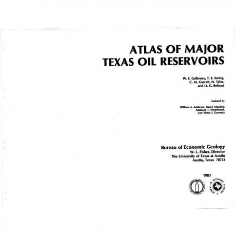 AT0004. Atlas of Major Texas Oil Reservoirs: Database