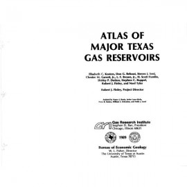 AT0003. Atlas of Major Texas Gas Reservoirs: Database