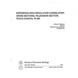 CS0010. Reference High-Resolution Correlation Cross Sections, Paleogene Section, Texas Coastal Plain