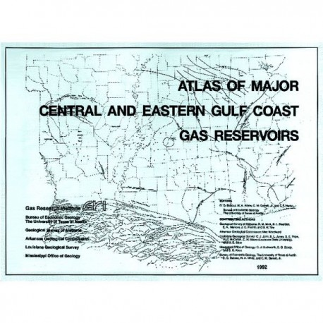 AT0005. Atlas of Major Central and Eastern Gulf Coast Gas Reservoirs