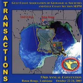 GCAGS053CD. GCAGS Volume 53 (2003) Baton Rouge CD ROM