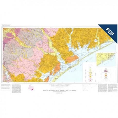 GA0005D. Beeville-Bay City Sheet - Downloadable