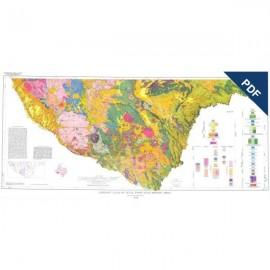 GA0015D. Emory Peak-Presidio Sheet. Downloadable