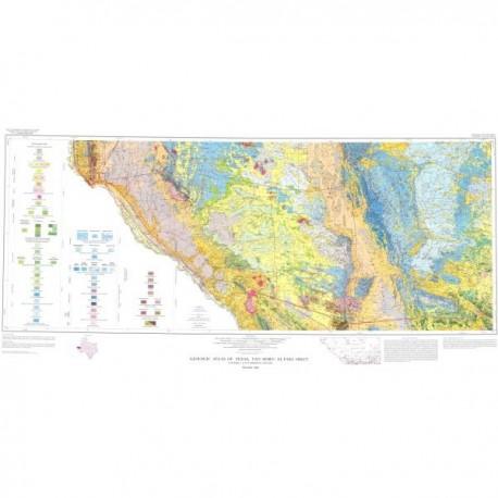 GA0036. Van Horn-El Paso Sheet