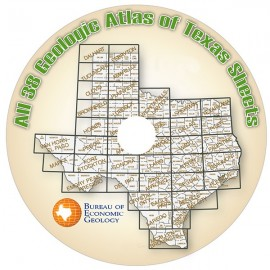 GA0039CD. All 38 Geologic Atlas of Texas Sheets, on CD-ROM.