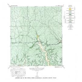GQ0006. Spring Creek quadrangle, Texas