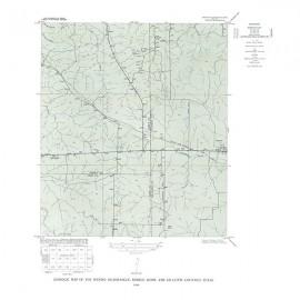 GQ0015. Wendel quadrangle, Texas