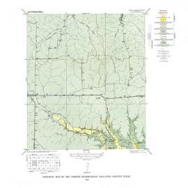 GQ0016. Harper quadrangle, Texas