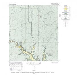 GQ0017. Dry Branch quadrangle, Texas