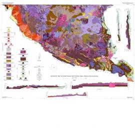 GQ0037. Geology of Bofecillos Mountains Area, Trans-Pecos Texas