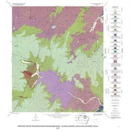 GQ0047. Geology of the Round Mountain quadrangle, Blanco, Burnet, and Llano Counties, Texas