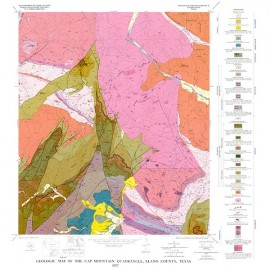 GQ0045. Geology of the Cap Mountain quadrangle, Llano County, Texas