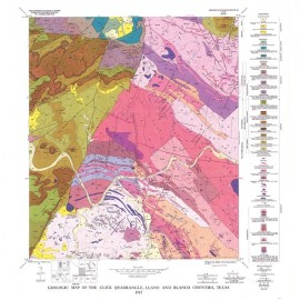 GQ0043. Geology of the Click quadrangle, Llano and Blanco Counties, Texas