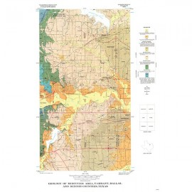 GQ0042. Geology of Midcities area, Tarrant, Dallas, and Denton Counties, Texas