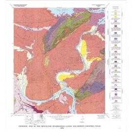 GQ0041. Geology of the Kingsland quadrangle, Llano and Burnet Counties, Texas