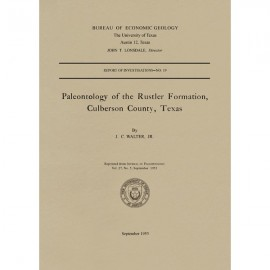 RI0019. Paleontology of the Rustler Formation, Culberson County, Texas