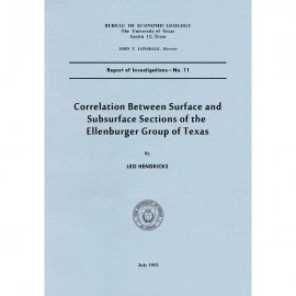 RI0011. Correlation between Surface and Subsurface Sections of the Ellenburger Group of Texas