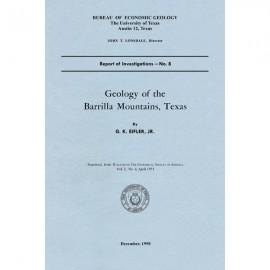 RI0008. Geology of the Barrilla Mountains, Texas