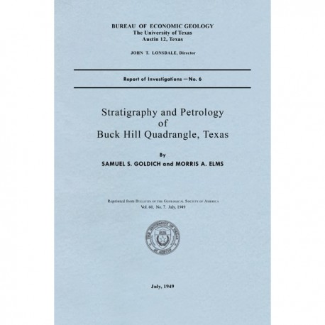 RI0006. Stratigraphy and Petrology of Buck Hill Quadrangle, Texas