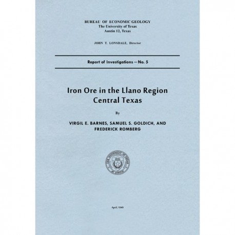 RI0005. Iron Ore in the Llano Region, Central Texas