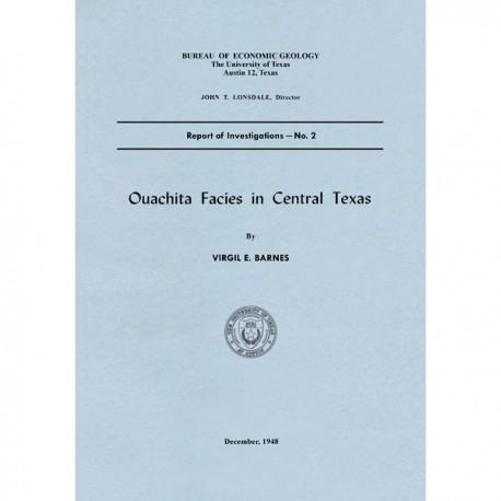 RI0002. Ouachita Facies in Central Texas