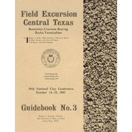 GB0003. Field Excursion, Central Texas: Tertiary Bentonites of Central Texas