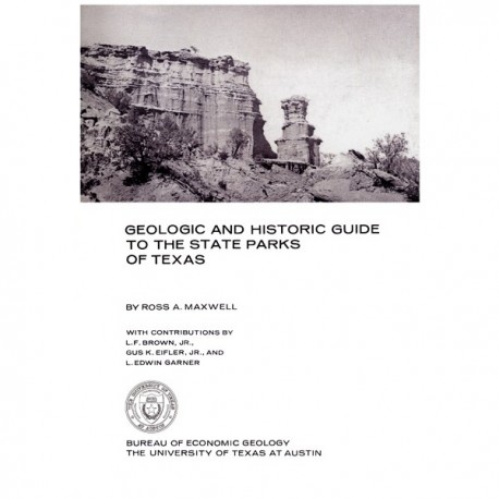 GB0010. Geologic and Historic Guide to the State Parks of Texas -