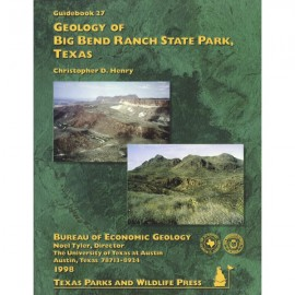 GB0027. Geology of Big Bend Ranch State Park, Texas