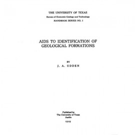 HB0001. Aids to Identification of Geological Formations