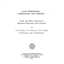SR0004. Land and Water Resources: Houston-Galveston Area Council