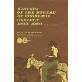 SR0009HB. Hardback. History of the Bureau of Economic Geology, 1909-1960