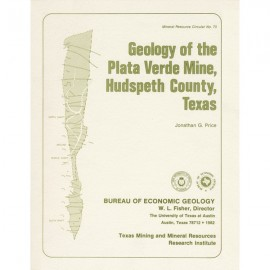 MC0070. Geology of the Plata Verde Mine, Hudspeth County, Texas