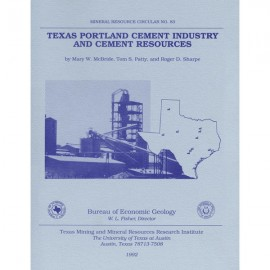 MC0083. Texas Portland Cement Industry and Cement Resources