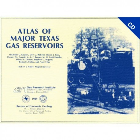 AT0001CD. Atlas of Major Texas Gas Reservoirs