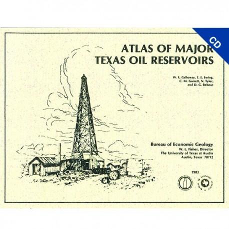 AT0002CD. Atlas of Major Texas Oil Reservoirs - CD-ROM Format