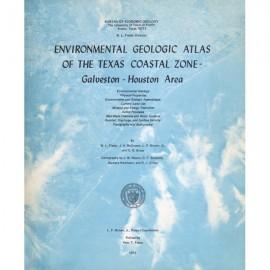EA0005. Environmental Geologic Atlas of the Texas Coastal Zone. Galveston-Houston Area