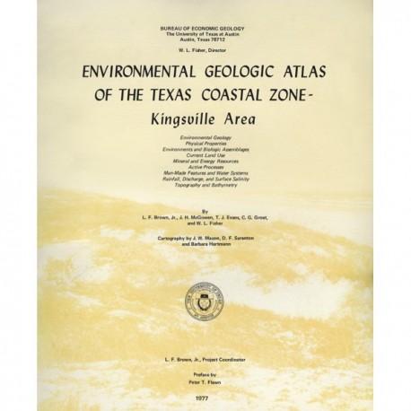 EA0006. Environmental Geologic Atlas of the Texas Coastal Zone. Kingsville Area
