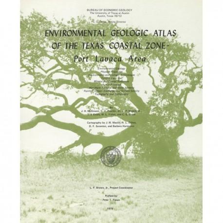 EA0007. Environmental Geologic Atlas of the Texas Coastal Zone. Port Lavaca Area