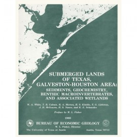 SL0005. Submerged Lands of Texas, Galveston-Houston Area: Sediments, Geochemistry, Benthic Macro-invertebrates, and Associated W