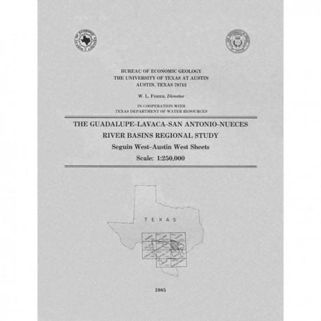 RB0002. The Guadalupe-Lavaca-San Antonio-Nueces River Basins Regional Study, Seguin West-Austin West Sheets