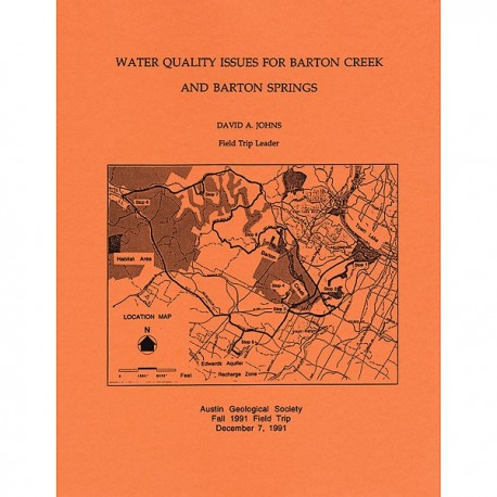 AGS 014. Water Quality Issues for Barton Creek and Barton Springs