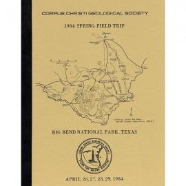 CCGS 112G. Geology of Big Bend National Park, Texas