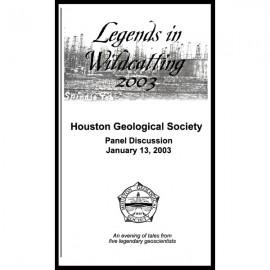 HGS V2003. Legends in wildcatting 2003