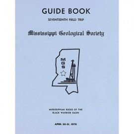 MGS 104G. Mississippian Rocks of the Black Warrior Basin