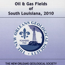 NOGS 34. Oil and Gas Fields of South Louisiana 2010 - CD